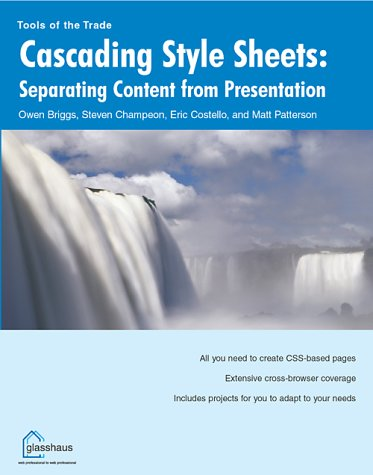 Cascading Style Sheets: Separating Content from Presentation pdf epub