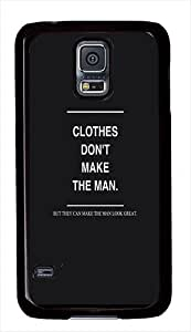 Quotes About Clothes Custom Samsung Galaxy S5 Case Cover - Polycarbonate - Black