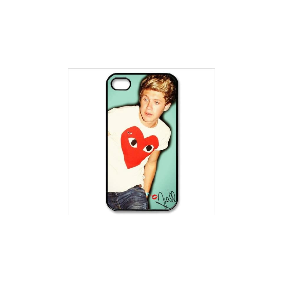 B2CSELLER Premium Customized English Irish pop boy band One Direction Niall Horan slim fit flexible TPU Case Cover for Iphone4/4S