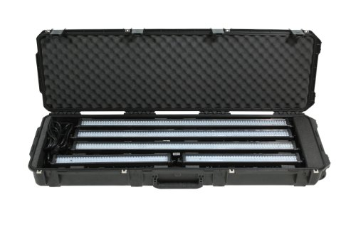 SKB 3I-5014-LBAR iSeries LED Light Bar Case 50 x 14 x 6 Inches with Custom Foam with Wheels