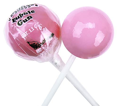 Original Gourmet Lollipops, Bubble Gum (Pack of 30) Bubble Gum Lollipop