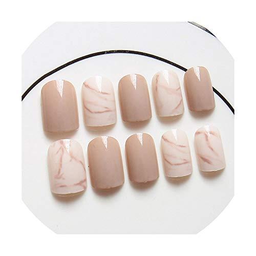 - False Press on Nails for Girl Full Cover Wear Finger Nail Art Tips,Zoey 4