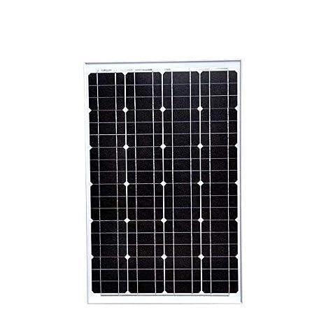 Amazon.com: BEESCLOVER - Cargador solar monocristalino de 60 ...