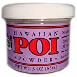 Hawaiian Poi Powder 3oz Jar - Made in Hawaii From Hawaian Taro