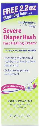 Grave érythème fessier Healing Cream rapide, 4 once