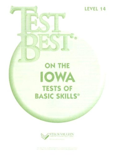 Test Best ITBS: Test Workbook Grade 8 (Level 14)