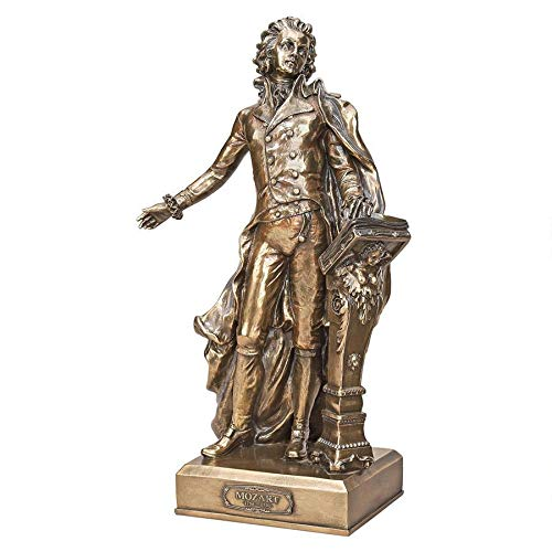 Design Toscano 12.5 in. The Great Composers Statue Mozart