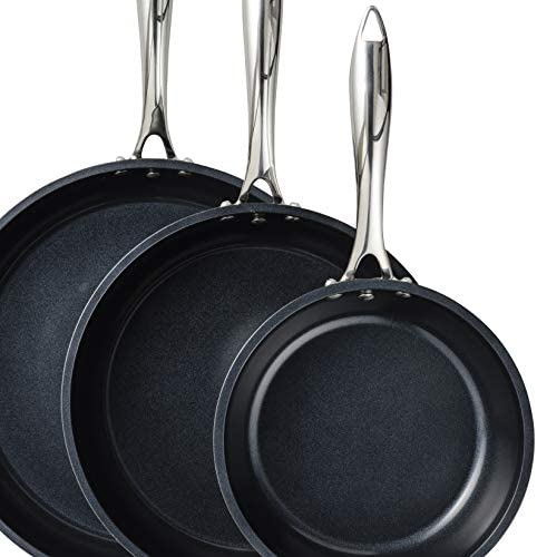 Kyocera Ceramic Nonstick Fry Pan, 12 INCH, Black