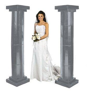 Amazon Com Silver Pillars Party Decorations Arches Columns