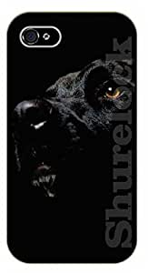 For SamSung Galaxy S5 Mini Case Cover Case Black face labrador - black plastic case / dog, animals, dogs