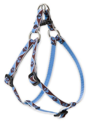"LupinePet Originals 1/2"" Muddy Paws 12-18"" Step In Harness for Small Dogs"