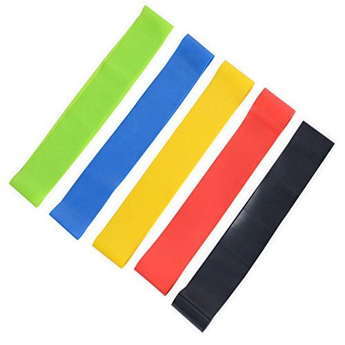 EBRICKON Yoga Resistance Bands Fitness Equipment Rubber Loop Pilates Sport Training Workout Elastic Band by EBRICKON