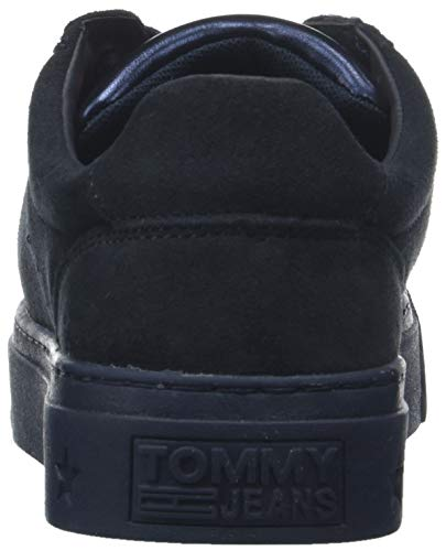 Flag Femme Basses Star Jeans Tommy Big Bleu Sneakers midnight 403 Sneaker Sparkle qH64WF
