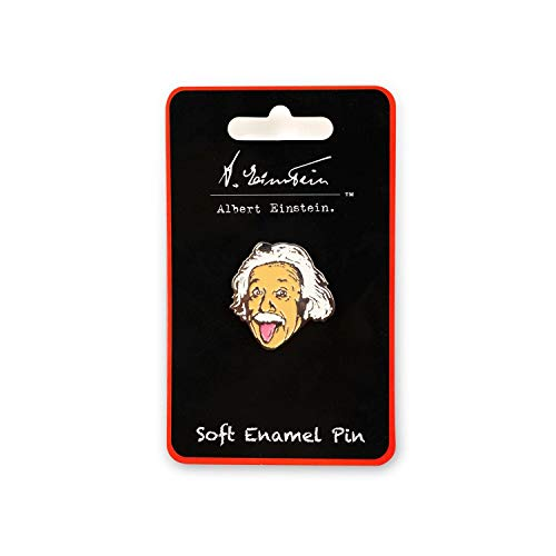 JUST FUNKY Albert Einstein Soft Enamel Collector