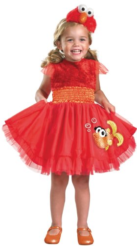 Frilly Elmo Toddler Costume - Toddler Large