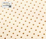 Queen Original Talalay Latex Mattress Pad Toppers: 2', 3', Many Densities (2' Thick, 44 ILD Firm)