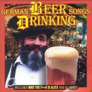 Various Artists German Beer Drinking Songs Amazon Com