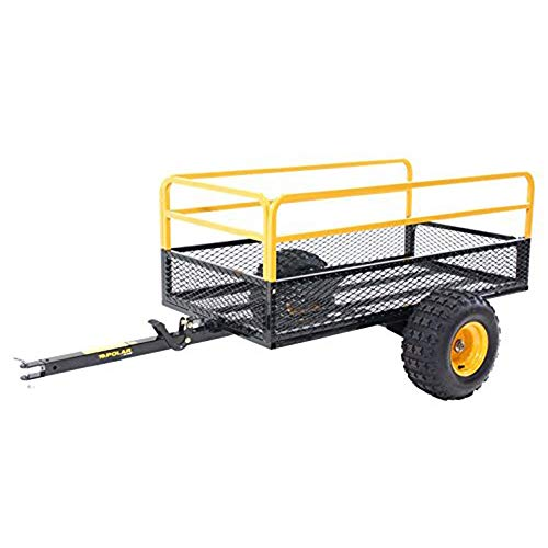Polar Trailer 10738 Utility Trailer, Black/Yellow