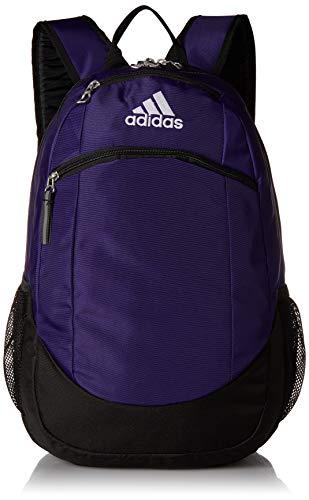 adidas Unisex Striker II Team Backpack, Team Collegiate Purple, ONE SIZE