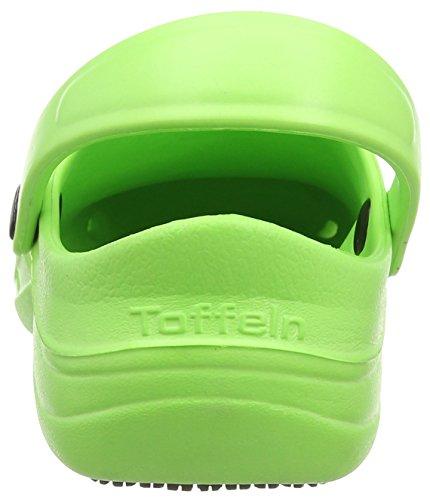 Toffeln Eziklog Unisex-Erwachsene Sicherheitsschuhe, Green (Lime Green) - Größe: 36 EU ( 3 UK )