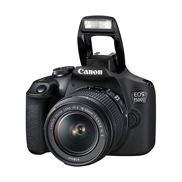Canon-EOS-1500D-241-Digital-SLR-Camera-Black-with-EF-S18-55-is-II-Lens