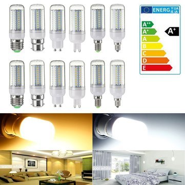 B22 Led Bulbs - Dimmable E14 E27 Gu10 E12 Smd4014 Led Corn Bulb Light Home Lamp Ac220v - Guided Wheat Conducted Maize Lightbulb Light-Emitting Diode Zea Mays Incandescent Clavus Medulla - 1PCs