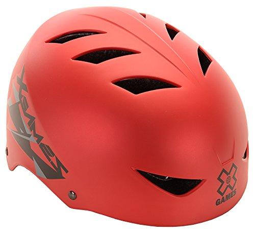 X-Games Multi-Sport Helmet, Satin Red