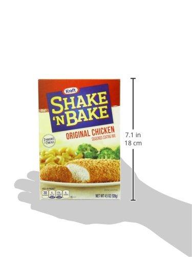 Kraft Shake N Bake Seasoned Coating Mix Box, Original Chicken, 4.5 Ounce (Pack of 12) by Kraft (Image #7)
