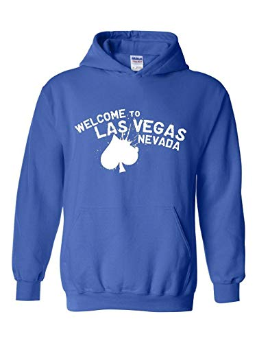 Las Vegas Gift Welcome to Las Vegas Nevada Unisex Hoodie (MRB) Royal Blue (Rio Las Vegas Early Check In Time)