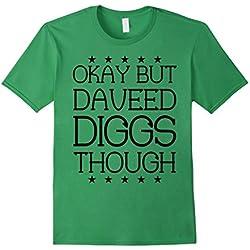 Men's Okay But Daveed Diggs Though SHIRT 2XL Grass