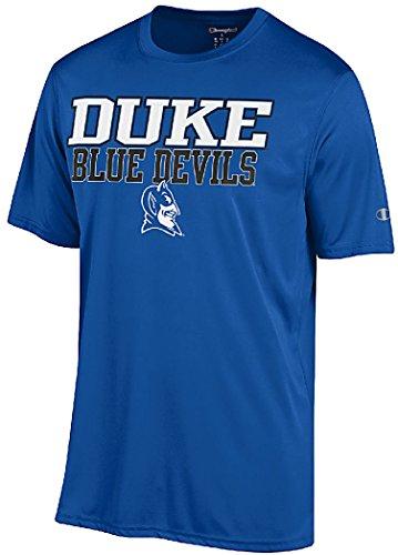 Duke Blue Devils Royal Vapor Dry Champion Powertrain Short Sleeve T-Shirt (Medium)