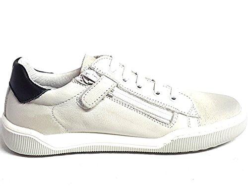Blanc Naturino Baskets Noir Pour Garçon Blanc TTYIH8A
