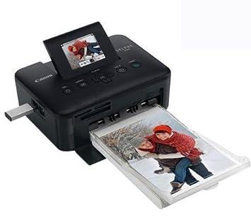 Impresora Photo Selphy CP800 - negro + Pack cartucho de ...