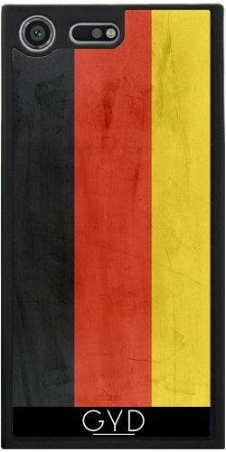 Funda Silicona para Sony Xperia XZ Premium - Bandera De Alemania by wamdesign