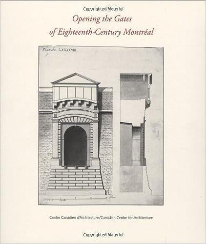 Descarga gratuita de libros electrónicos en formato pdf.Opening the Gates of Eighteenth-Century Montréal PDF MOBI 0262620863