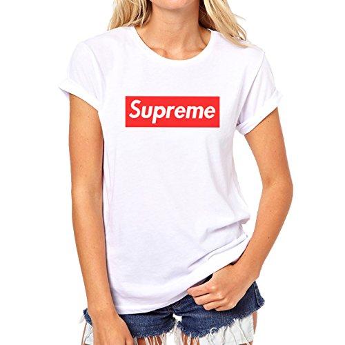 Supreme Logo Red Box XL Womens T-Shirt