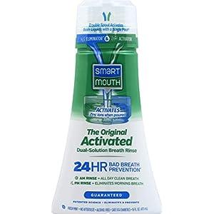 SmartMouth Original Activated Mouthwash Mint 16 FL oz