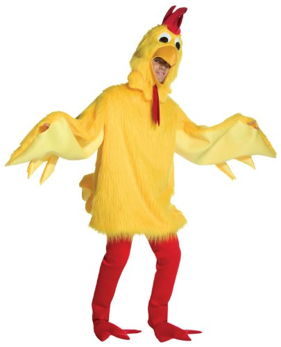 Chicken Mascot Costumes (Fuzzy Chicken Costume Costume - One Size - Chest Size 48-52)