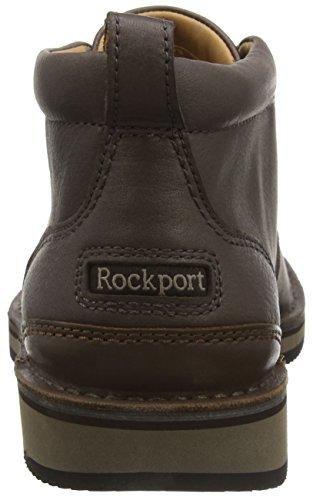 Rockport Prestige Point, Botines para Hombre Marrón - Brown (Dark Bitter Chocolate)