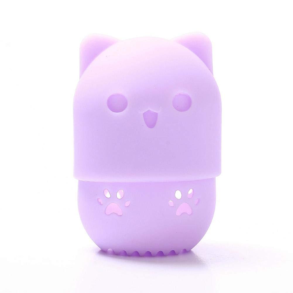 Spugna Trucco Beauty Sponge Blender Contenitore Per Spugne Per Trucco Per Trucco Supporto Per Scatola Di Immagazzinaggio In Silicone Per Polvere Di Polvere Di Silicone