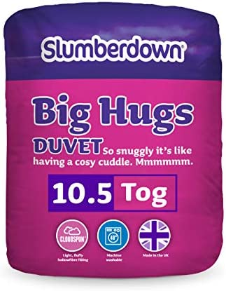 Slumberdown Double Warm Hugs Duvet 10.5