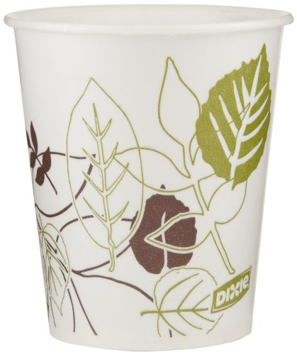 Dixie 5 oz. Waxed Paper Cold Cup by GP PRO (Georgia-Pacific), Pathways, 58WS, 1,200 Count (50 Cups Per Sleeve, 24 Sleeves Per Case)