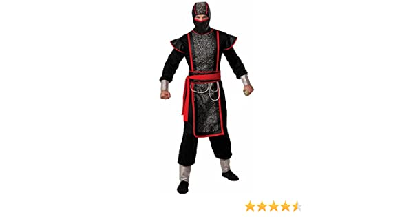 Forum Novelties Mens Ninja Master Costume with Hood