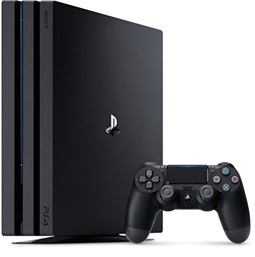 2018 PlayStation 4 Pro Console Jet Black CUH-7115B 4K HDR Gaming Console