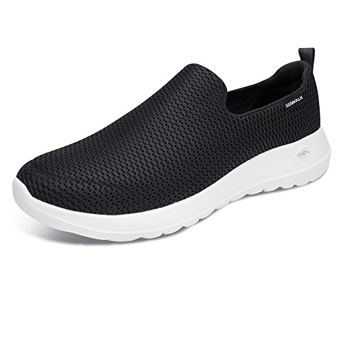 Mens Go Mesh Black Walk Black Max Skechers White Trainers dw4xpSqdn5