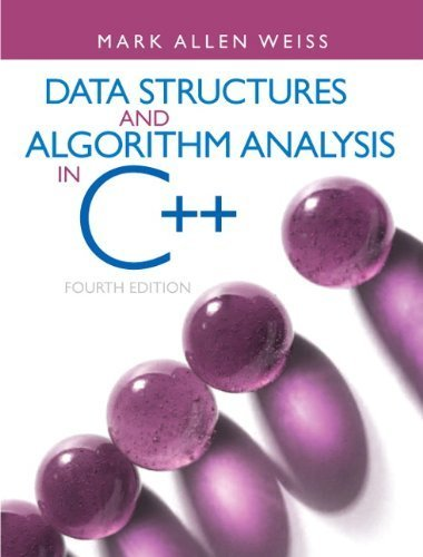 Data Structures & Algorithm Analysis in C++ 4th (fourth) Edition by Weiss, Mark A. published by Prentice Hall (2013) by Prentice Hall