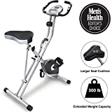 Best Stationary Bikes - Exerpeutic Folding Magnetic Upright Exercise Bike with 300 Review