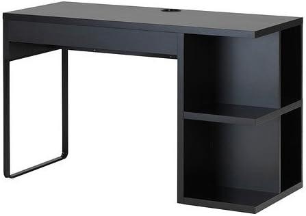 réplica Mago hacer clic  IKEA Micke escritorio con espacio para almacenamiento; En negro y marrón;  (120 x 50 cm): Amazon.es: Hogar