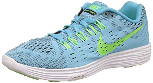 size 40 82059 a0a5f Galleon - Nike Women s Lunartempo Clearwater Flsh Lime Blk White Running  Shoe 7.5 Women US