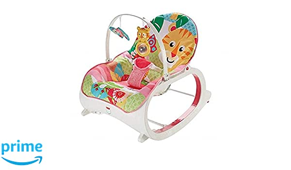 Fisher-Price - Mecedora de bebé a niño rosa: Amazon.es: Bebé